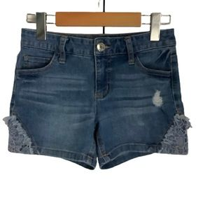 JUSTICE JEAN SHORTS SIZE 12 (GIRL)